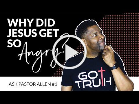 Why Did Jesus get Angry, Flip over Tables and Shut the Temple Down?! |Ask A Pastor Ep#1