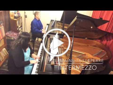 Odyssey Chamber Music Series S16: Tailleferre - Intermezzo for two pianos