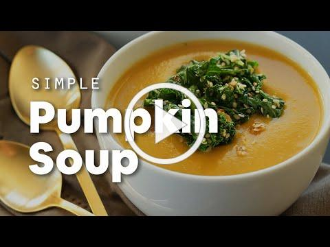 Simple Pumpkin Soup | Minimalist Baker Recipes