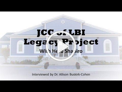 JCC Legacy Herb Shapiro