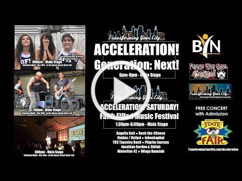 ACCELERATION! Generation: Next! Concert Promo (:60) Music