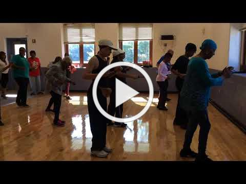 Zydeco Slide Line Dance, performed by Lake Arbor Seniors