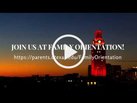 Join Us At Family Orientation!