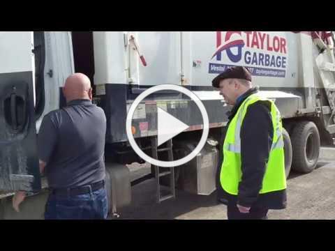 ACHIEVE Pre-vocational Program visits Taylor Garbage