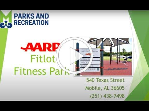Tour of the AARP sponsored FitLot James Seals Community Center