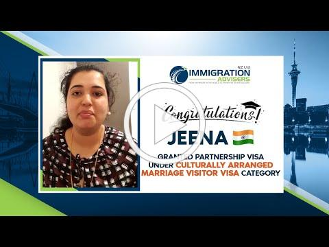 IANZ Client Success Stories | Jeena | Granted Culturally Arranged Marriage Visitor Visa