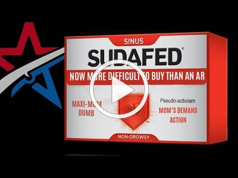 It's easier to buy Sudafed than an AR15?