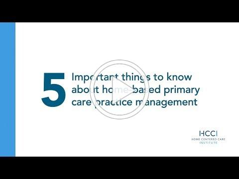 5 Most Important Things To Know About HBPC Practice Management