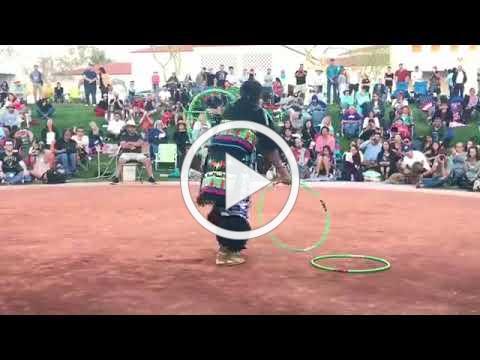 Nakotah LaRance 2018 World Hoop Dancing Championship