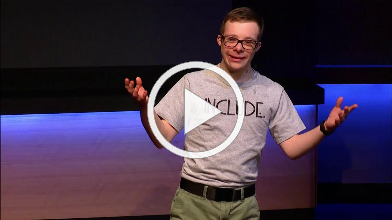 How I Know Including People With Down Syndrome Is A Good Thing | Matthew Schwab | TEDxCaryWomen
