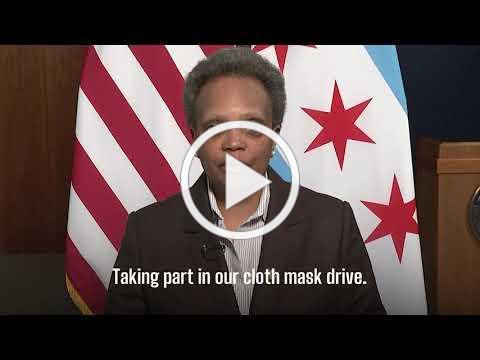 Mayor Lightfoot - Cloth Mask Drive