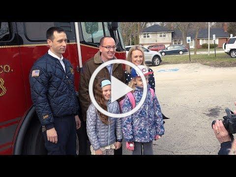 Engine Ride to School 2019