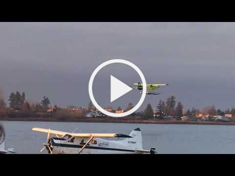 Harbour Air test flight of first electric aircraft!
