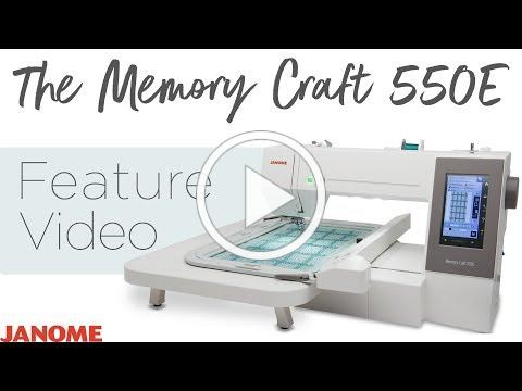 The Memory Craft 550E Feature Video