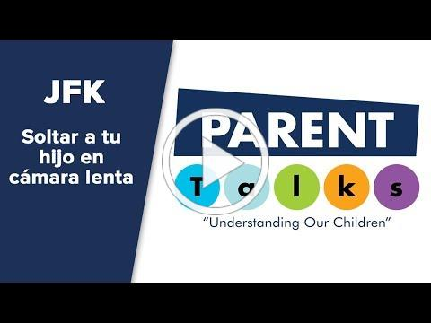 "Parent Talk - ""Soltar a tu hijo en cámara lenta"""
