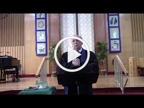 Worship Service 3-21-2021
