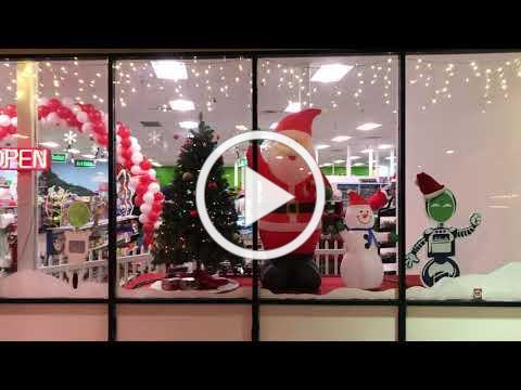 Christmas Decorations at Fundemonium 2020
