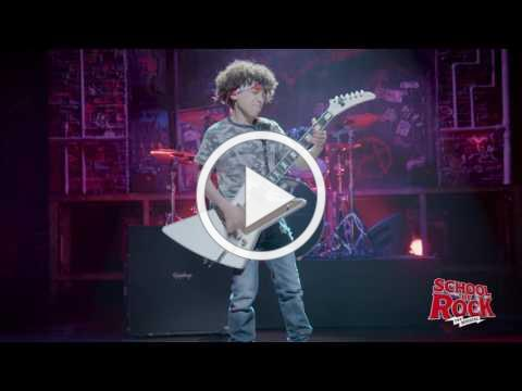 Brandon Niederauer Star Spangled Banner | SCHOOL OF ROCK: The Musical