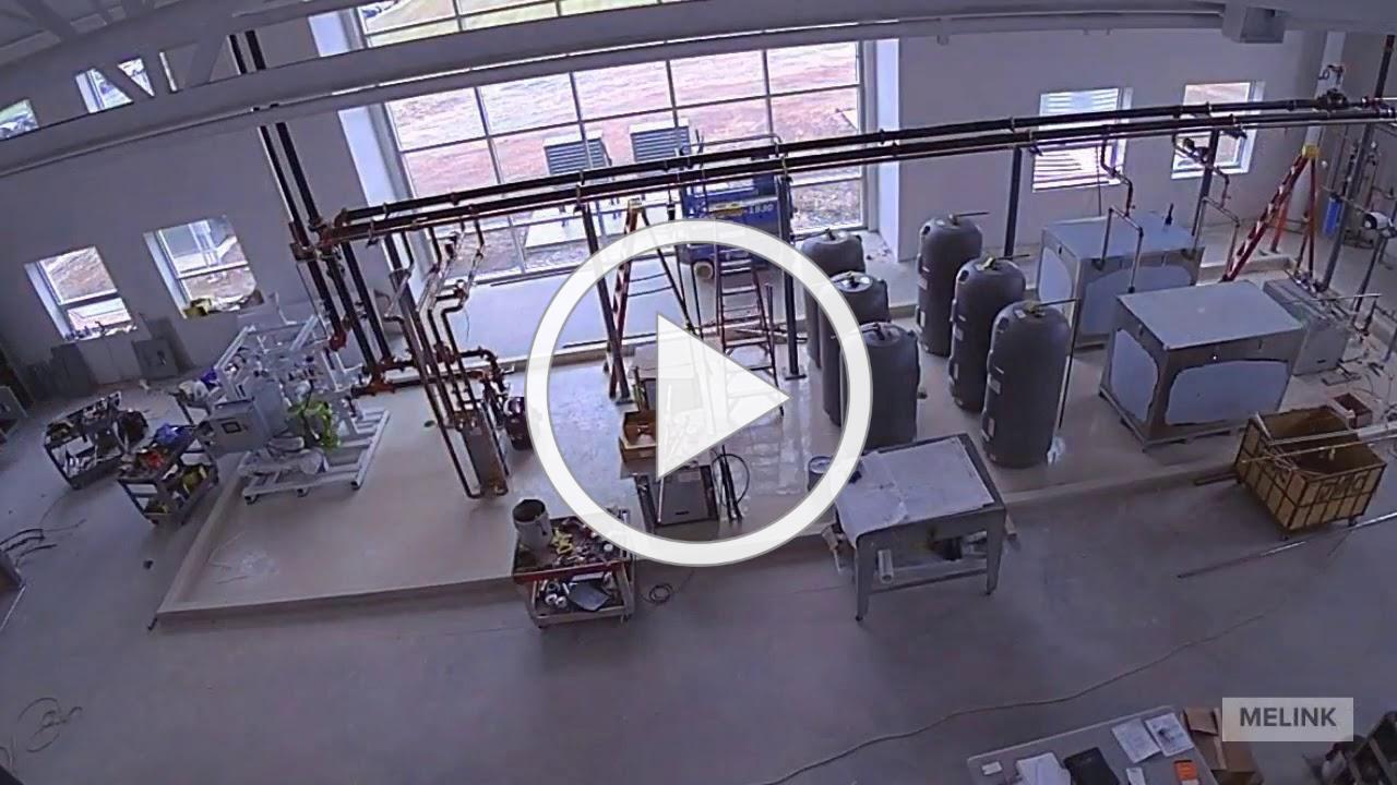 HQ2 Super-Hybrid Geothermal HVAC System Timelapse