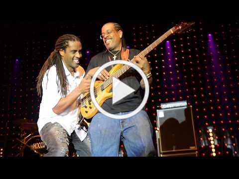 Kenny Neal encore on bass in Cahors Blues Festival, France 2017