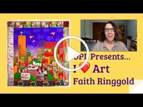 I ♥ Art: Faith Ringgold