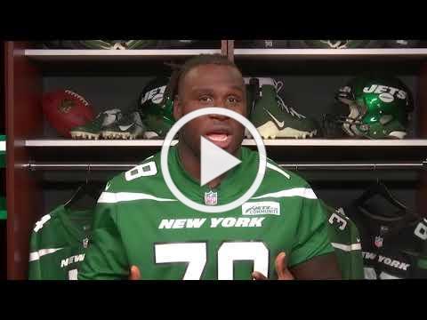 Jonotthan Harrison NY Jets and STOMP Out Bullying Global Ambassador