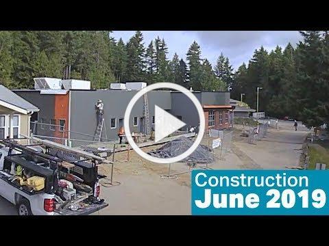 Kitsap Humane Society Construction, June 2019
