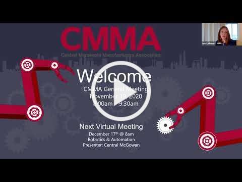 CMMA November 2020 General Meeting