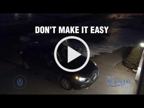 Vehicle Theft: Don't Make it Easy