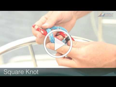 ASA Knots Made Easy : Square Knot, or Reef Knot