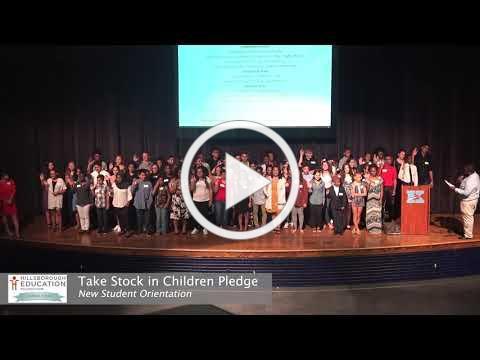 Take Stock in Children Pledge 2018