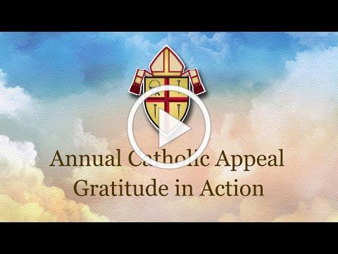 Gratitude in Action 2020 Catholic Annual Appeal