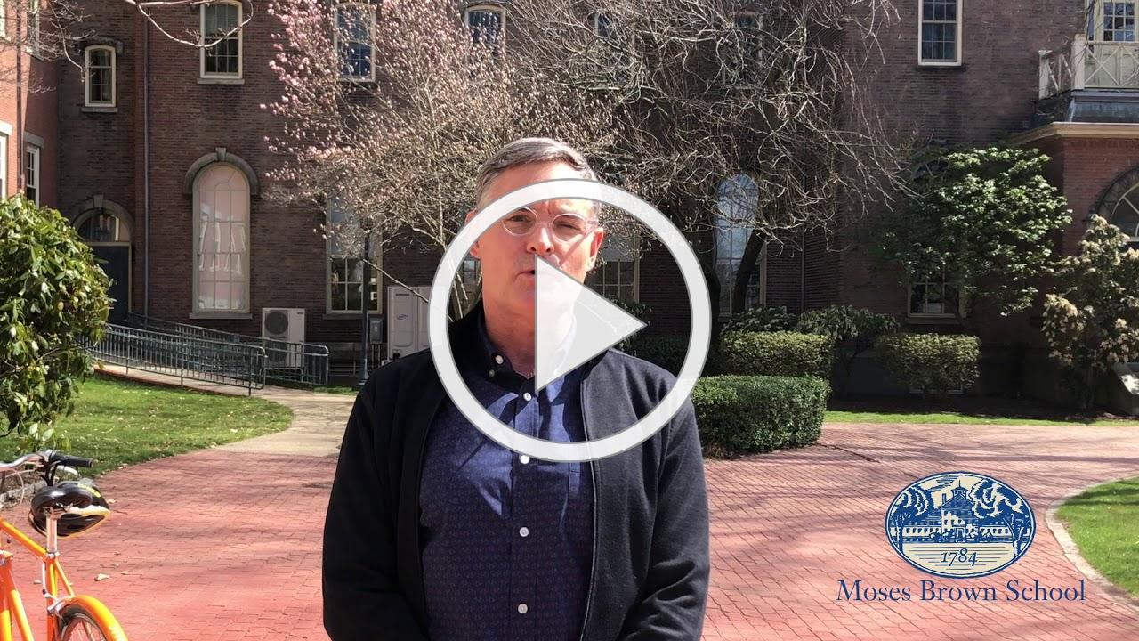 Head of School Matt Glendinning online learning statement March 27, 2020