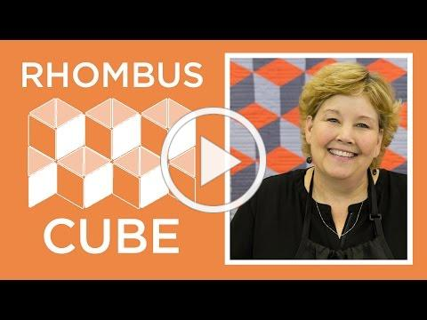 Make%20a%20Rhombus%20Cube%20Quilt%20the%20EASY%20Way!