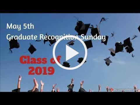 May 5, Graduate Sunday