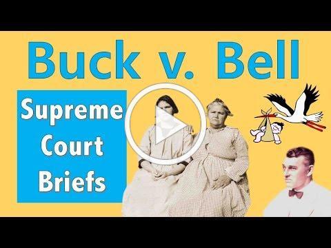 When The Supreme Court Said Eugenics Was Fine   Buck v. Bell
