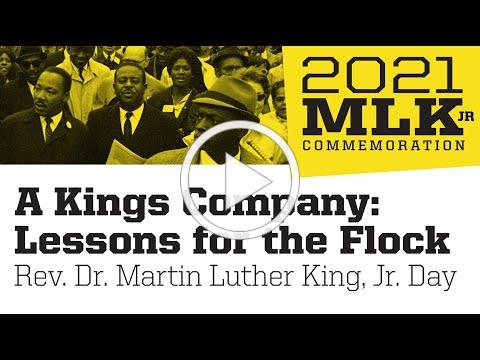 A Kings Company: Lessons for the Flock