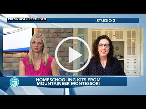 WSAZ Inteview: Montessori at home toolkit now available