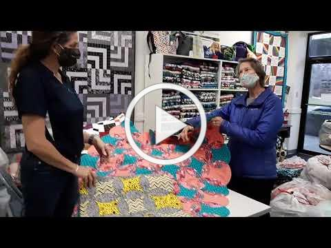 How to Make A Quilt from Circle Blocks