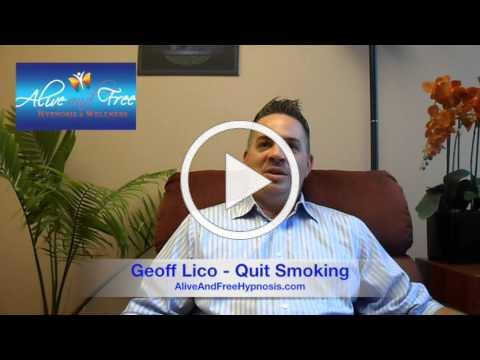 A&F Hypnosis Testimonial: Geoff Lico - Quit Smoking