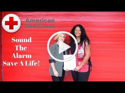 RED CROSS | SOUND THE ALARM SAVE A LIFE CAMPAIGN + SHOUTOUTS!!