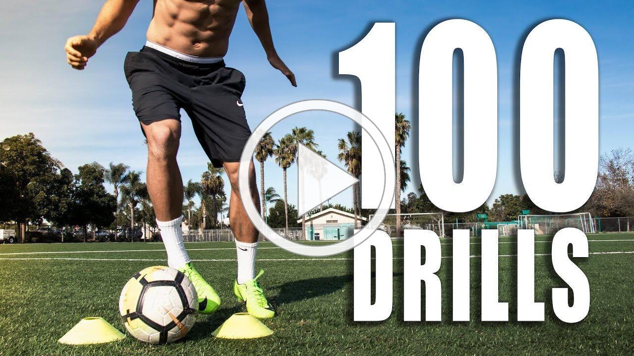 100 Individual Soccer Training Drills