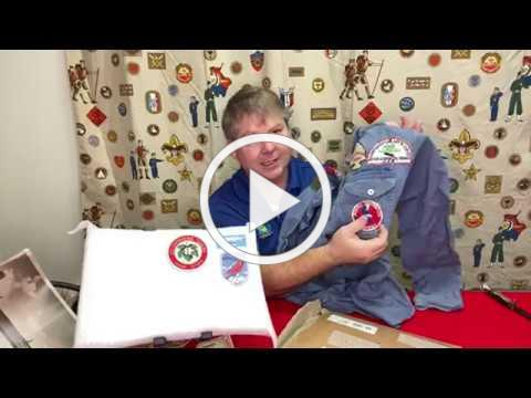Boy Scout Collection Unboxing Including WWII Military Items and Air Explorer Uniform
