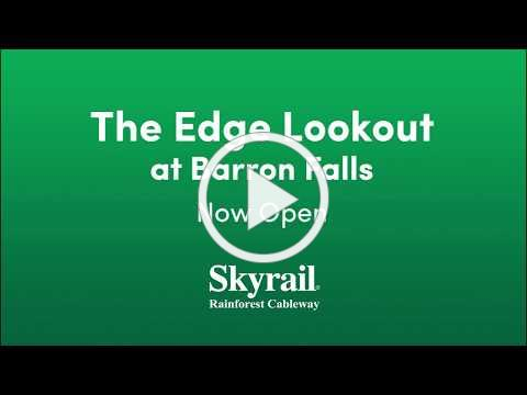 The Edge Lookout at Skyrail Rainforest Cableway