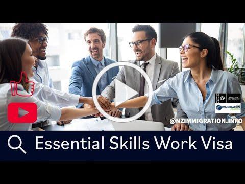 Essential Skills Work Visa I Important Points I Immigration Advisers New Zealand