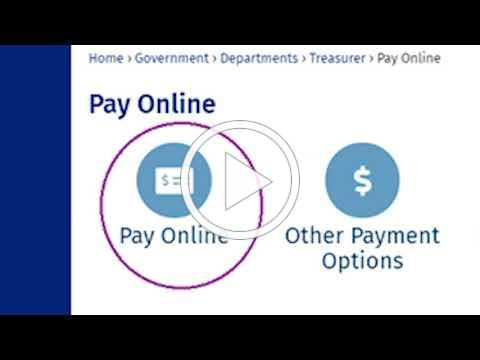 Treasurer's Office New Credit Card Payment Processing