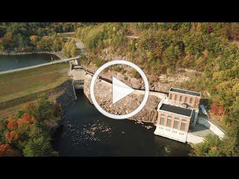 Conklingville Dam Fall 2020