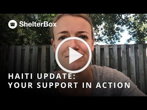 Haiti Update: Your Aid in Action