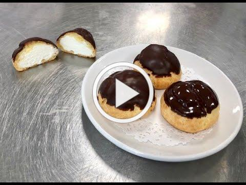 Pate a Choux (Cream Puffs ) by Amie Bakery present by the Osterville Village Library