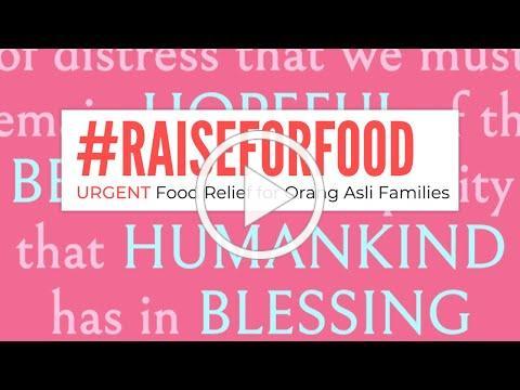 #Raiseforfood: Something Small With a Big Hope